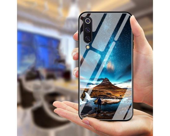 Глянцевый силиконовый чехол для Samsung Galaxy A7 2018 (A750)