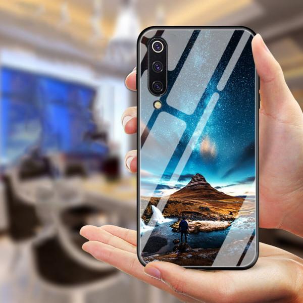 Глянцевый силиконовый чехол для Samsung Galaxy A7 2018 (A750) Исландия