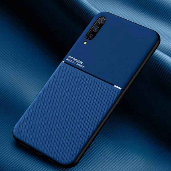 Силиконовый чехол IQS Design для Samsung Galaxy A30s/A50/A50s Синий