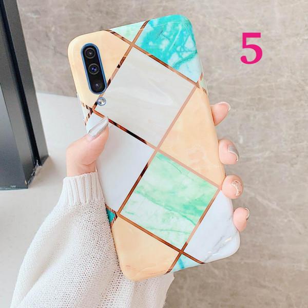 Силиконовый чехол с мраморным принтом для Samsung Galaxy A50s/A50/A30s