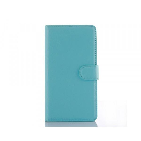 Чехол-книжка для Samsung A10s Голубой