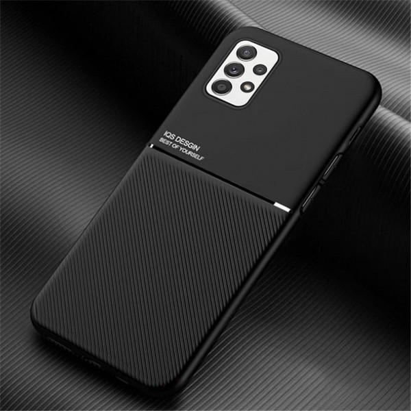 Силиконовый чехол IQS Design для Samsung Galaxy A32 Чёрный