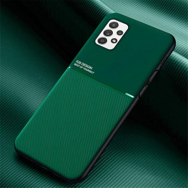 Силиконовый чехол IQS Design для Samsung Galaxy A52 Зеленый