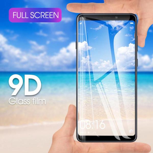 Защитное стекло Full Glue 9D с полным покрытием для Samsung A7 2018 (A750)