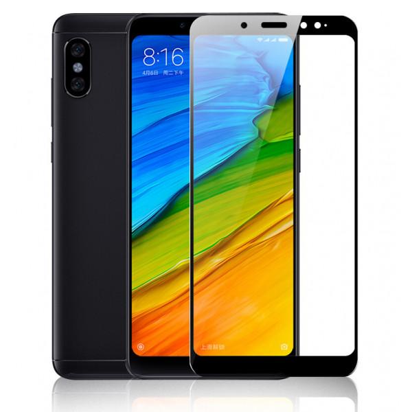 Защитное стекло с полным покрытием для телефона Xiaomi RedMi Note 5