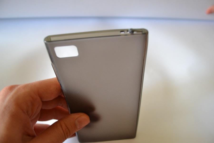 Купить Силиконовый чехол для Xiaomi Mi3 (чёрный) в Украине