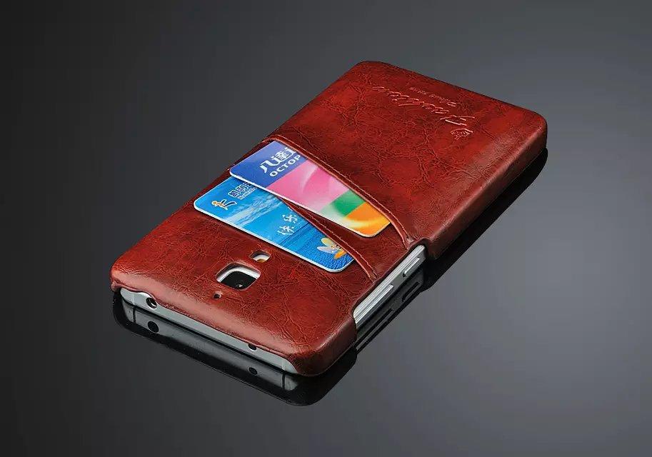Купить бампер из кожи для Xiaomi Mi4 (3х цветов) в Украине
