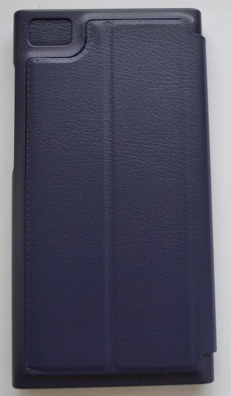 Купить чехол книжка для Xiaomi Mi3 (С вырезом для часов) (тёмно-синий)