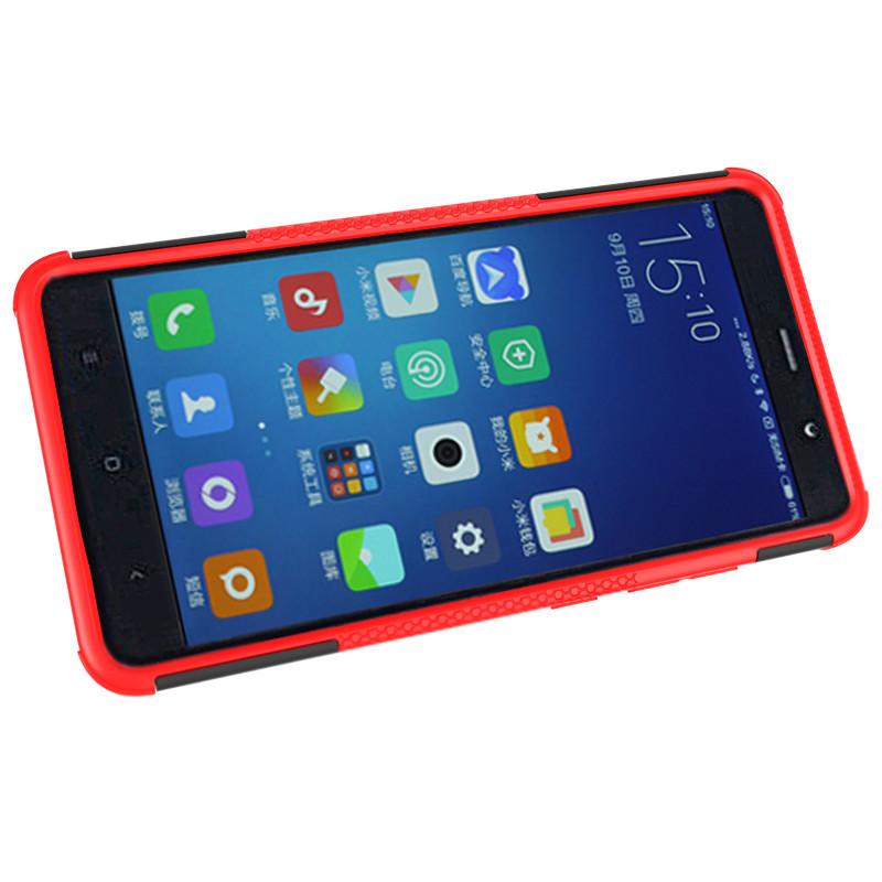 Бронированный противоударный пластиковый бампер для Xiaomi Redmi Note 3