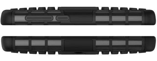 Бронированный силиконовый чехол для Xiaomi Redmi 2